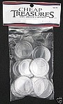 AirTite Coin Capsules 10 Pack Silver Eagle American