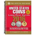 2016 Red Book U.S. Coins Whitman Price Guide Large Print